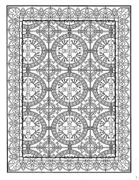 Coloring Page Tiles Kids N Fun