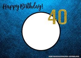 best free printable 40th birthday invitations for men idea