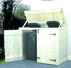 Image Cabinet Ideas Outdoor Trash Can Storage Ideas Cabinet Outside Home Creator Best Design Garbage Can Storage Ideas Outdoor Bin Trash Diy Home Creator Best