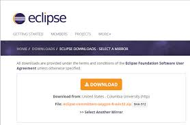 eclipse and installation