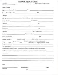Room For Rent Application 043 Rent Room Agreement Template Free Printable Rental Forms