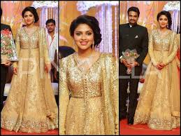 dewy bridal makeup look amala paul wedding