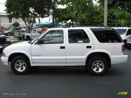 Summit White 2000 Chevrolet Blazer Trailblazer Exterior Photo ...