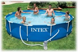 Каркасный бассейн <b>Интекс</b> (<b>Intex</b>) <b>Metal Frame</b> Pool (<b>366х76</b> ...