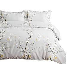 bedsure spring bloom pattern bedding