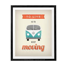 Vw Quote Volkswagen print VW poster Typography by LatteDesign on Zibbet 62