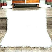 white fluffy rug fur faux soft ikea sheepskin washing instructions bedroom rugs medi