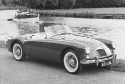 MG - История автомобилей MG. Американская <b>Love Story</b>: MGA ...