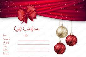 Christmas Gift Certificate Templates 99 Editable