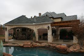 fort worth covered patio with pergola