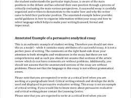 persuasive essay examples argumentative essay org analysis essay example 7 examples in pdf word