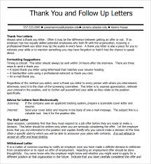 9 Follow Up Email After Interview Sample Templates