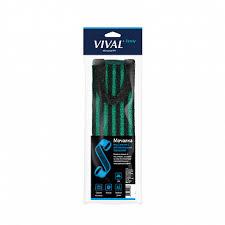 Купить <b>мочалка</b> для тела <b>VIVAL Массажная</b> с вертикальными ...
