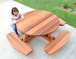 full size of furniture fascinating kids picnic table 18 kid size round wood kit forever