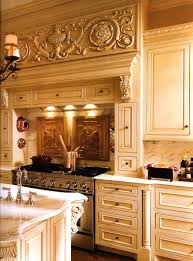 Traditional Luxury Kitchens Detailed Luxury Kitchen With Island Of A French Baroque Home In
