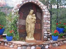 garden statues unique st john holy mother mary statue virgin outdoor for