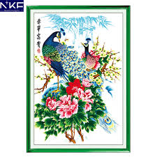 Charts And Patterns Us 85 99 51 Off Nkf Wealth And Honour Animal Style Cross Stitch Sets Counted Free Cross Stitch Charts And Patterns Home Decoration In Package From