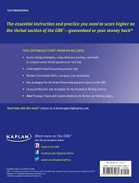 ets gre essay topics gre verbal workbook book by kaplan kaplan test prep official
