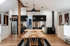 White wood kitchen Contemporary Blackkitchenideasfreshome25 Deavitanet 31 Black Kitchen Ideas For The Bold Modern Home Freshomecom