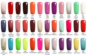 Nail Color Chart Oem Odm Private Label Uv Nails Polish Gel Nail Acrylic