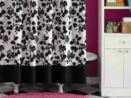 black and white shower curtains. Getting A Great Black Shower Curtain And White Curtains H