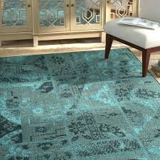 turquoise and brown area rug turquoise and black area rug port black turquoise velvety area rug