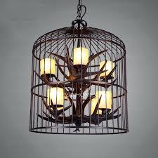 birdcage light fixture restoration hardware