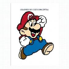 Mario On Graph Paper Graph Paper Mario Modernmuslimwoman Com