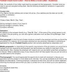 Best Ideas Of Cover Letter For Football Job Football Cv Cover Letter
