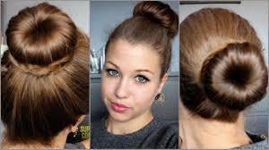 Hair Tutorial N 19 3 Buns With A Donut Youtube