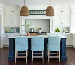 slipcovered counter stools. Slipcovered Counter Stools Turquoise Cottage Design
