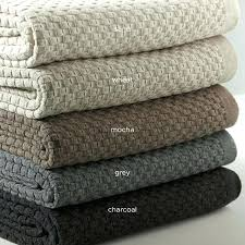 thermal cotton blanket. Cotton Thermal Blanket Full Size Blankets Made In Usa