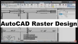 What Is Autocad Raster Design Autocad Raster Design Tutorial For Beginners
