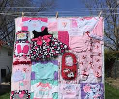 Memory Quilt Patterns Custom DIY Baby Clothes Memory Quilt Pattern Video Tutorial