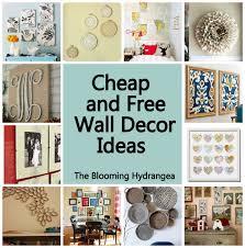 Wall Decor Cheap Home Decor Wall Art Ideas Doubtful Cheap Free Roundup Idea  Frame