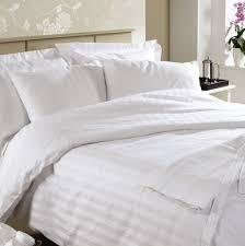 white hotel stripe duvet cover sweetgalas