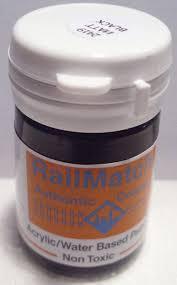 Railmatch Paints Colour Chart Railmatch 2419 Matt Black General Colour Acrylic Paint
