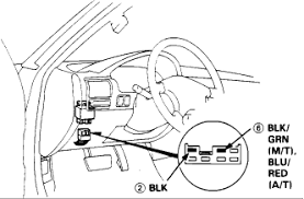 1991 honda accord dx main relay positive battery terminal 4 attach the positive probe of the voltmeter to the blk grn m t or the blu red a t wire pin 6 and the negative probe to the blk wire pin 2