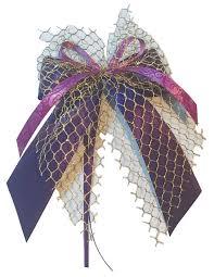 10 Weihnachtsschleifen Christbaumschmuck Schleifen Geschenke Weihnachten Ws1905 Lila Gold Violett