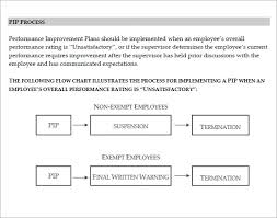Free 11 Sample Performance Improvement Plan Templates In