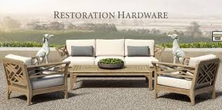 restoration outdoor furniture. Restoration Hardware King Collection Outdoor Furniture Set 3 N
