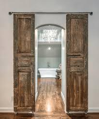 enchanted cau wooden bathroom doors