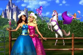 barbie princess charm bloopers hd