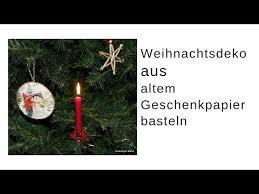 Christbaumschmuck Basteln Upcycling Mit Pappe U
