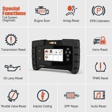 <b>Ancel FX6000 OBD2</b> Car ECU Programming Coding Tool Full ...