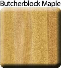 customcraft countertops butcherblock maple laminate countertop endcap kit left