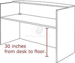 office counter desk. Alera® Valencia Series Reception Desk W/Counter Height Office Counter R