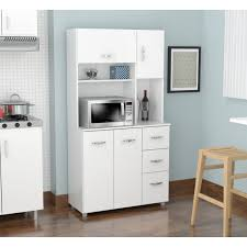 Laricina White Kitchen Storage Cabinet - Free Shipping Today -  Overstock.com - 17139030