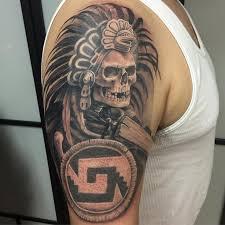 Aztec Tattoo Patterns Enchanting Aztec Tattoo Designs Tattoo Patterns Azteca Tattoo Native Tattoos