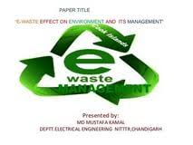 research paper on e waste management rock n roll essay topics research paper on e waste management
